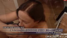 Young German Brunette Cumshot Compilation