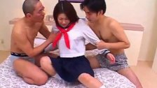 Kokori sexy Japanese doll gets hairy pussy