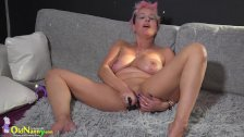 OldNanny Mature fisting pussy hard