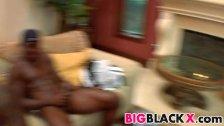 Massive black dick fucks sexy girl Alexa