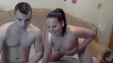 Hot Young Couple Fuck - NakedCamWomenDotcom