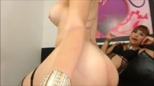 2 beautiful shemales live on cam