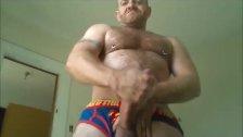 Sexy Hung Blue Bulge