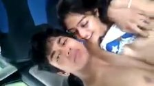 Boyfriend enjoy with little Girl,