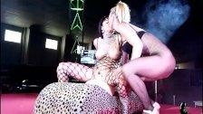 Amanda X y Daniela Evans show lesbico SEM2014