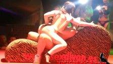 Amanda X y Brenda Boop con la pornoband SEM