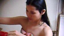 Spy Camera to Pinay girl take a shower (2)