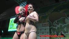 Pole dance show Kiara Rules SEM 2015