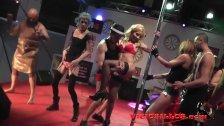 Erotic show with pornoband SEM 2015