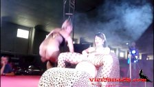 Amanda X & Daniela Evans lesbo show FEDA 2014