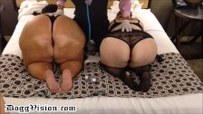 not Sisters with Huge Asses Spanked & Squirt