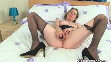 British milf Sexy P needs getting off