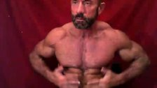 No Limits Muscle Dad Showing Off