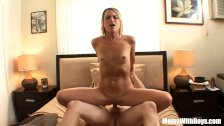 Blonde Mature Jessie Fontana Receives Good Mo