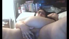 BBW Masturbating as well