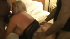 BBCs Guy Cum in Wife's Pussy at Montana Hotel