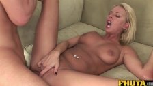 FHUTA  Blondie Takes it Deep in Her Ass