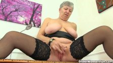 British granny Savana needs getting off