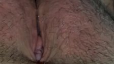Black dick teasing white bbw pussy