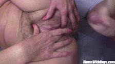 Lovely Grandma Marketa Anally Pounded By Youn