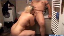 Chubby BBW in the Bath