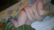 Vanya Red Bikini Mature