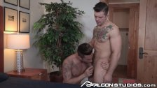 FalconStudios Riding Sebastian Kross' Dick