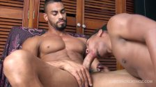 Latinos Lino and Julio Bareback and Breed