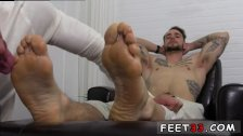 Extreme fuck gay sex tube KC's New Foot &