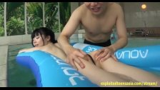 Cute Jav Teen Fingered In The Ass At Pool