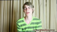 Twink emo gay porn video Preston Andrews is