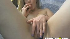 Extremely Hot Blonde Pussy Play