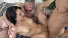 Megan Sage's Sneaky Husband Watches Her Get F