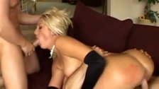 Raw Double Penetration Gangbang For Blondie