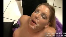 Young Blonde Loves Cum