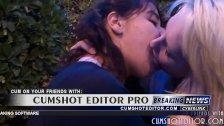 Hot Girls Deep Tongue Kissing