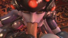 POV with Widowmaker from Overwatch (3D HD)