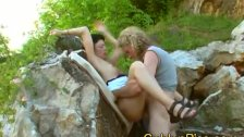 German mature lady loves natursekt play with