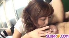 Ami Nagasaku makes magic with her soft lips