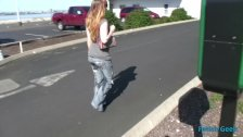 Sammy Wetting Her Jeans in Public