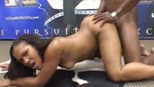 Hot ebony teen Janet Nasty