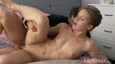 MOM Wet milf takes rock hard cock doggystyle