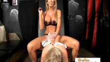 Perky Blonde Slave Is Perfect For Mistress Mo