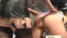 Hot Slave Tortured By Her Topless Mistress