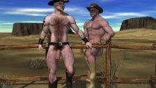 Muscular 3D Gay Sluts!