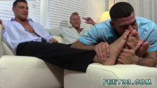 Gay feet on dick movies and foot job movies
