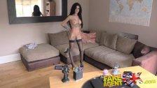 FakeAgentUK Tight pussy escort in uk porn casting