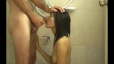 Exposed Sex in the shower awesome asian girl