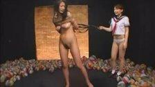 Asian Schoolgirl Makes Teacher Lesbian Pet Part 3