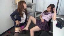 Asian Schoolgirl Makes Teacher Lesbian Pet Part 6